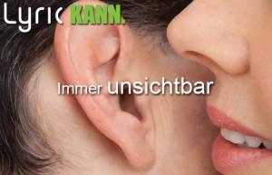 Lyric unsichtbares Hörgerät