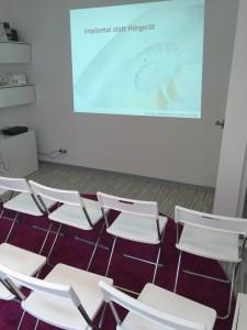 Implantat statt Hörgerät Veranstaltungsraum
