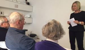 Implantat statt Hörgerät Referentin Kratz